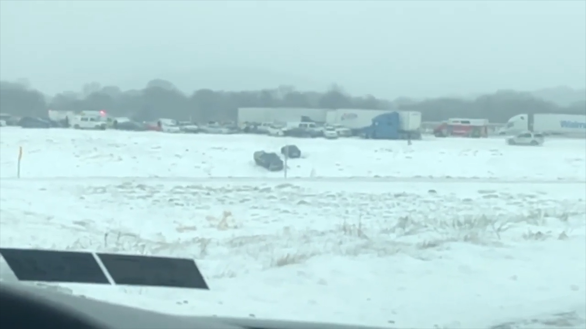 Snow squall pileup on Route 222 injures 24, police say