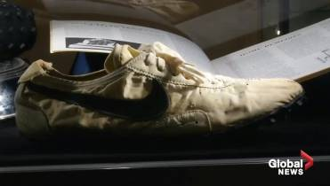 Nike running shoes sell for more than $400K at public auction