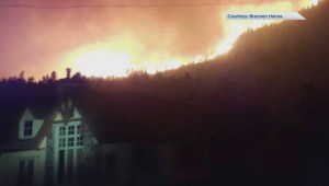 Global's Joe Scarpelli explains the growth of Kenow Mountain wildfire