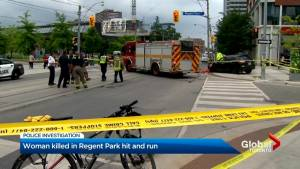 Woman killed after alleged hit-and-run in Regent Park
