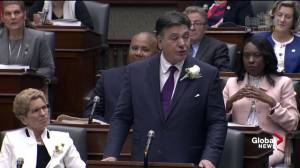 Ontario, finance minister discusses plans to help with hydro, housing prices