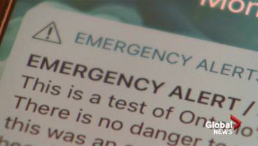 No alerts for cell phone emergency alert system test in