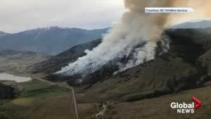 Richter Creek wildfire near Osoyoos still out-of-control