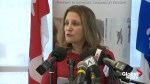 Canada formally requests clemency for Canadian sentenced to death in China: Freeland