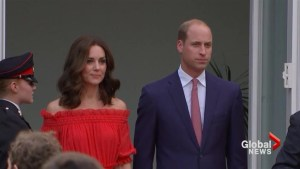Prince William and wife Kate join Berlin garden party for Queen's birthday