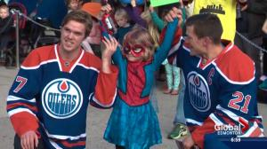 SpiderMable's day saving Edmonton from evil