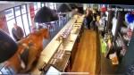 Video shows runaway horse galloping through French cafe