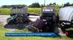 OPP charge 3 drivers in separate summer crashes involving transport trucks that killed 6
