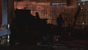 Dramatic fire in downtown Vancouver shows dangerous homeless conditions