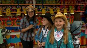 Kids report fun times at Calgary Stampede