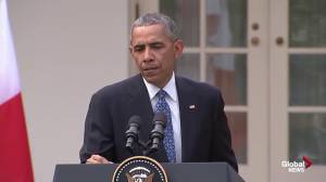 Obama: being blamed for Republican primaries and who they're selecting is novel