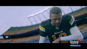 Video featuring Eskimos Mike Reilly shows Edmonton in a new 'inspiring' light
