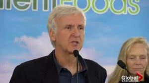 Hollywood director James Cameron, wife investing in Saskatchewan company