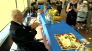 Second World War veteran celebrates 100th birthday