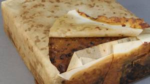 100-year-old fruitcake found in Antarctica in '(almost) edible' condition