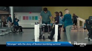 'Stronger' tells the story of a Boston bombing survivor