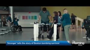 'Stronger' tells the story of a Boston bombing survivor