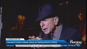 Remembering Leonard Cohen