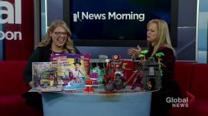 Kathy Buckworth with holiday toy ideas