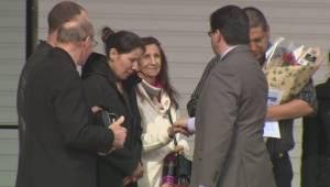 Emotional moments at Chase Martens' memorial service