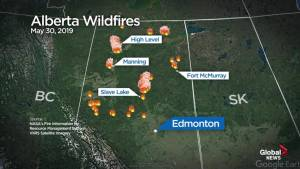 Alberta wildfire forces community near Slave Lake to evacuate