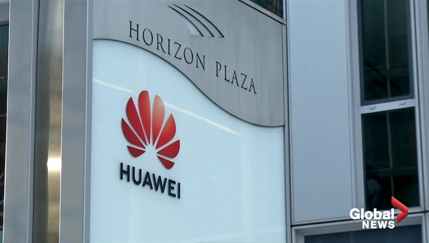 Click to play video: 'New woes for Huawei as two held on spy charges'