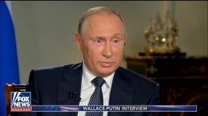 Putin interviewed by Fox News, grilled on why his critics 'end up dead'