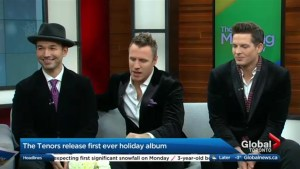 Spending 'Christmas Together' with The Tenors' first ever holiday album