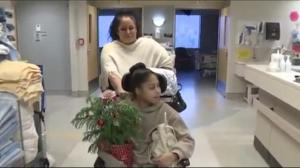 Shantee Anaqoud goes home for Christmas