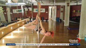 Pole Fitness Kingston tees up their Winter Showcase