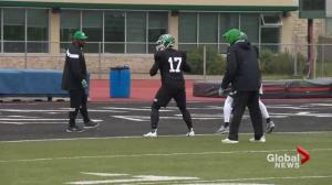 Riders prepare for 'Green and White Day'