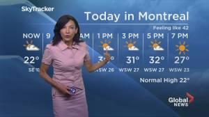 Global News Morning weather forecast: Friday July 19, 2019