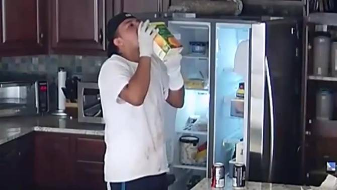 Hungry Bandits Break Into California Home Raid The