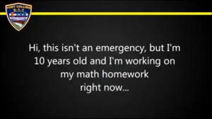 10-year-old Colorado boy calls 911 for math help