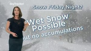 Will the Lower Mainland see snow on Friday night?