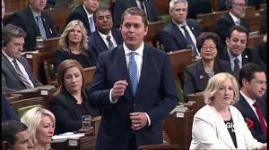 Scheer says carbon tax will punish 'hard working Canadian families'