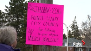 Grassroots movement successful in blocking construction plans in Pointe-Claire