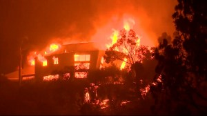 The most compelling video of the California wildfires
