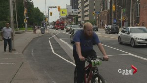 Bloor Street bike lanes already causing concern