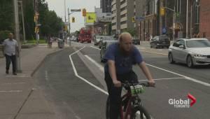 Bloor Street bike lanes already causing concern (01:52)