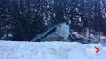 Footage of fatal train derailment near Field, B.C.
