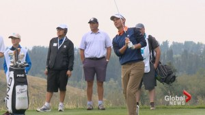 Calgarians get inside the ropes with PGA pros during Shaw Charity Classic Pro-Am