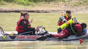 Lethbridge first responders receive moving-water rescue and recovery training