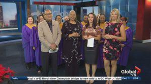 The people's Gospel Choir celebrates Christmas