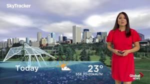 Edmonton early morning weather forecast: Wednesday, August 7, 2019