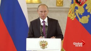 Russia's Putin congratulates Trump, eager to restore relations with US