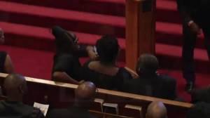 Reverend Clementa Pinckney laid to rest today in Charleston