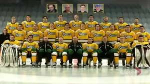 Humboldt Strong: A memorial for the Humboldt Broncos