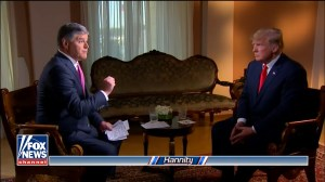 Fox News' Sean Hannity praises Donald Trump's post-Putin press conference