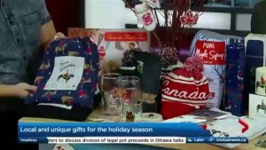 Christmas gifts that pay homage to Canada